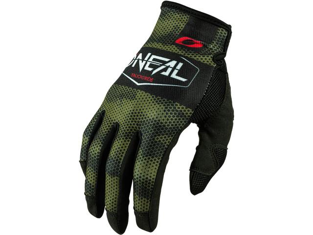 O'Neal Mayhem Handschoenen Crackle, covert-black/green